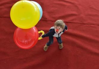 dag van het kind ballonnen